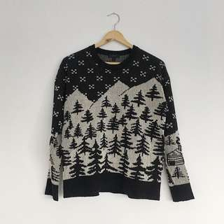 J.crew winter knit sweater   small