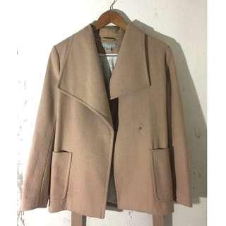 H&M Camel Wool Short Coat