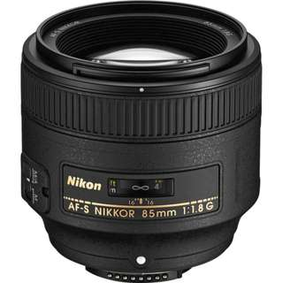Want to Buy: Nikon 85mm f/1.8G