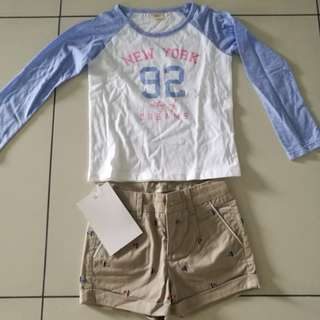 Shirt + short