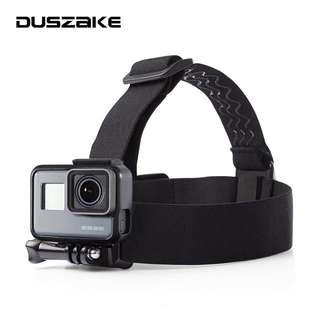Go pro action camera headstrap mount