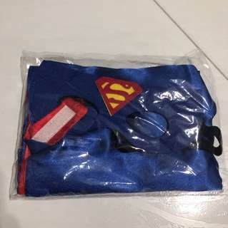 Superman Cosplay Cape and Mask