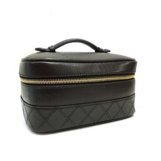 Chanel Black Vanity Bag Vintage ❌ Gucci Hermes LV Dior Celine Ferragamo Style