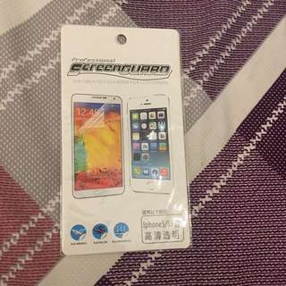 iPhone 5/5s screen protector