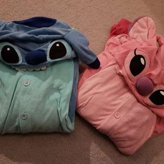 Stitch and Angel Onsies