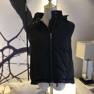 theory puffer down vest