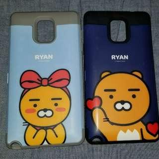 韓國正品Ryan 手機殼 Note 4