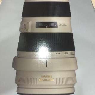 Canon 70-200mm 2.8L ii IS