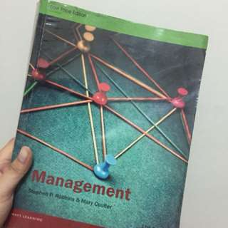 Management by Stephen P. Robins & Mary Coulter
