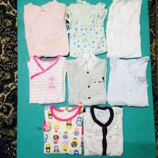 **CLEARING MIX ALL BABY ROMPERS & JUMPSUIT - 14pcs**