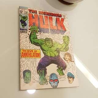 The Incredible Hulk (Jun 1969) #116