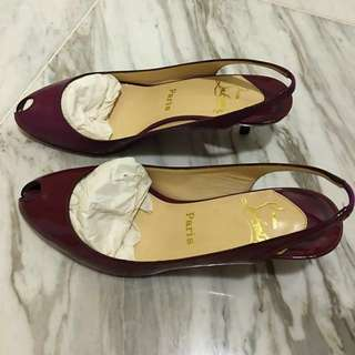 2018 NY REDUCTION! Preloved Christian Louboutin Low Heels!