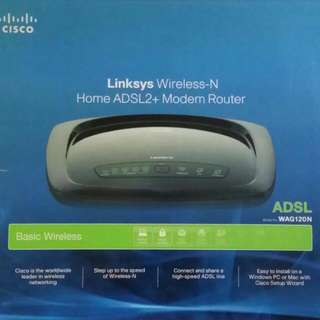 Cisco Linksys Wireless Modem Router (Brand New, Still In Box)