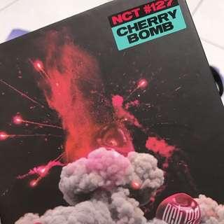 NCT 127 mini album cherry bomb