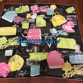 2018 NY REDUCTION! Authentic Louis Vuitton Colorful Travel Carre Scarf