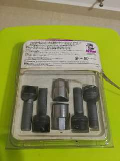 Wts used mcguard lock nut for audi or vw