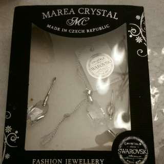 Authentic Swaroski Crystal Set