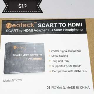 Neoteck scaler to hdmi converter
