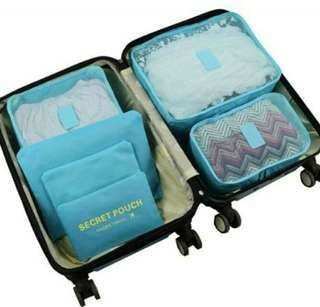 6-Piece Packing Cube Set