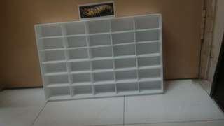 Hotwheels display racks