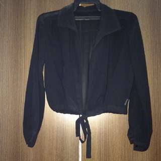 Casual Outerwear Black