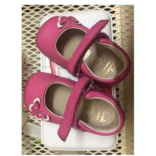Clarks first year shoe (Pink)