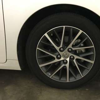 Lexus ES 250 (Luxury) Car Rims