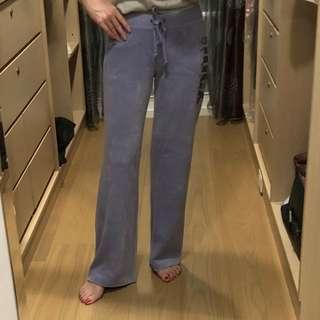 紫色 JUICY 運動長褲