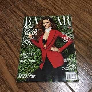 MIRANDA KERR Harper's Bazaar UK Magazine