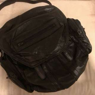 ALEXANDER  WANG backpack 可側咩兩用  80%new 現$3800