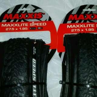 MAXXIS MAXXLITE SPEED 27.5x1.95 ULTRALIGHT TIRES 超輕外呔