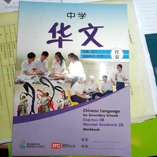 Sec 4 Chinese Workbook
