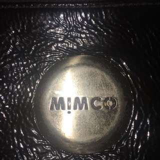 Mimco patent leather pouch