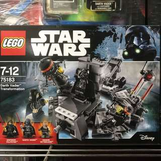 Original LEGO Star Wars Darth Vader Transformation