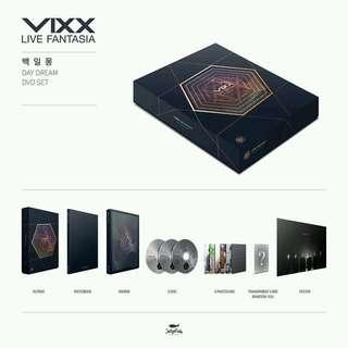 VIXX LIVE FANTASIA DAYDREAM DVD