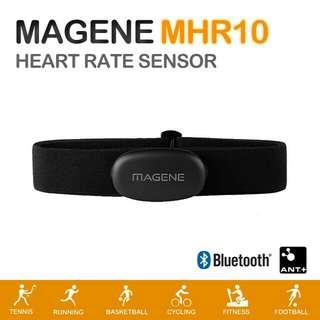 Magene MHR10 ANT+ Bluetooth Heart Rate Monitor 心跳帶(Garmin、手機都用得)