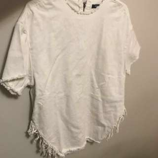 Urban Outfitters (BDG) Oversized Off-White Top - S