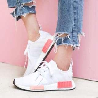 🚚 限時特價 Adidas nmd 眾女星必備 乾燥玫瑰 白粉 現貨 保證公司貨 包退萬倍
