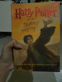 REPRICE!! Harry potter 7 relikui kematian