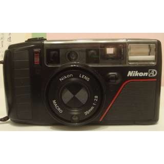 【蔓蔓菲】NIKON AD3 底片相機35mm 傻瓜相機(日本製)