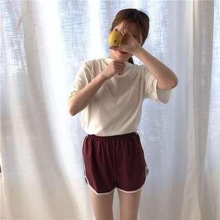 🚚 居家&運動兩著舒適棉質短褲