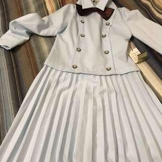 Vintage-brand new blue sailor dress