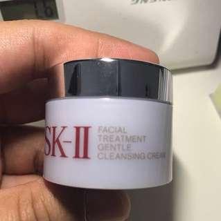Sk-ll facial treatment gentle clensing cream...