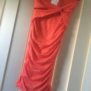 Kookai strapless dress size 1