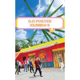 EXO KOKOBOP ALBUM 連D.O poster同Xiumin小卡