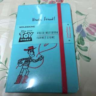 Brand NEW Limited Edition Disney-Pixar Toy Story Ruled Notebook Moleskin