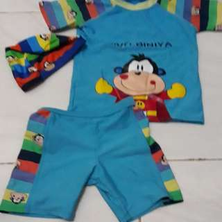 Baju renang anak sz 110