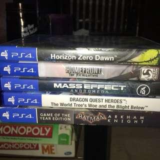 PS4 GAMES‼️