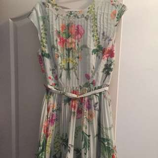 Ted Baker Floral Dress Size 2