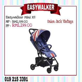 EASYWALKER MINI XS UNION JACK VINTAGE